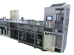 Individual process type stripping machine