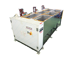 Immersion-type stripping machine